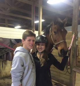 Luke Delaney Horse